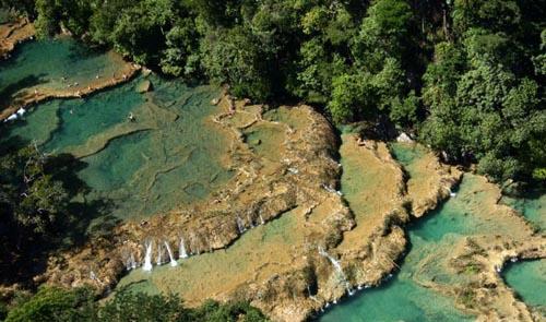 Semuc Champey, piscinas naturales de Guatemala