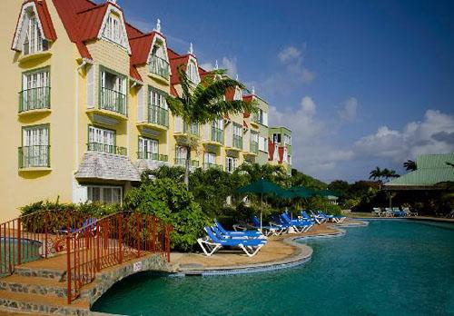 Coco Palm, un hotel en Santa Lucía