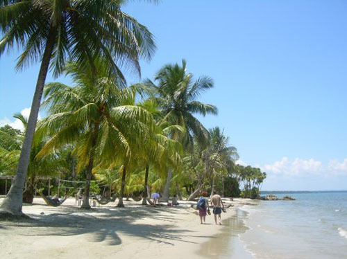 Playa Blanca, en Guatemala