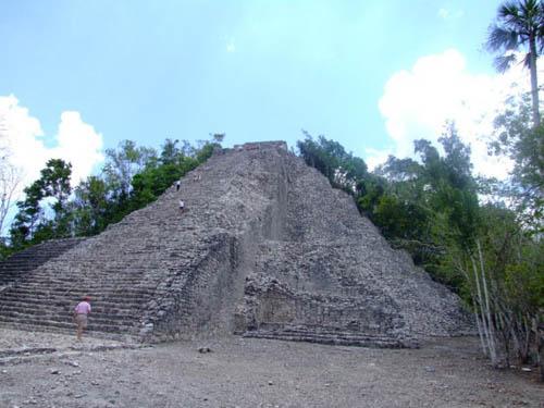 Las ruinas mayas de Cobá, en Yucatán
