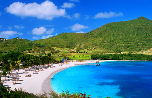 La hermosa Isla Canouan