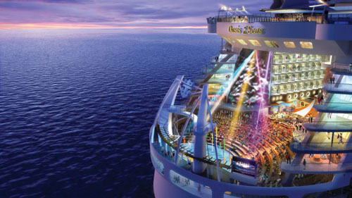 Oasis of the Seas, crucero en abril