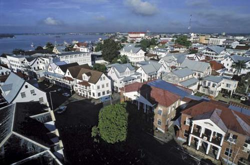La belleza de Suriname
