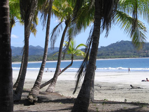 Samara, playa de Costa Rica