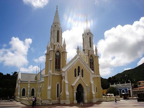 La Iglesia del Valle, en Isla Margarita