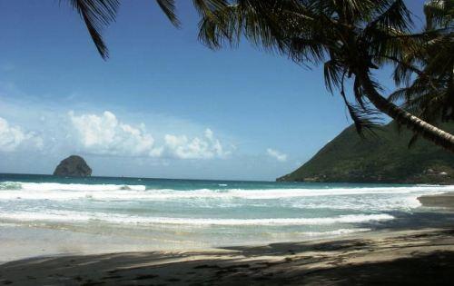 Playa Diamante, la mejor de Martinique