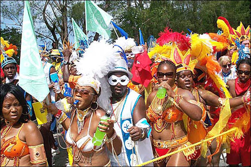 Festival Crop Over, fiesta en Barbados