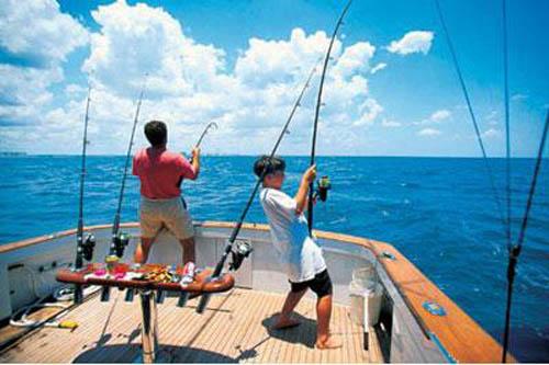 Pescar en el Caribe