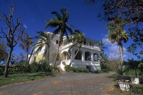 Sprat Hall, mansión antigua en St. Croix