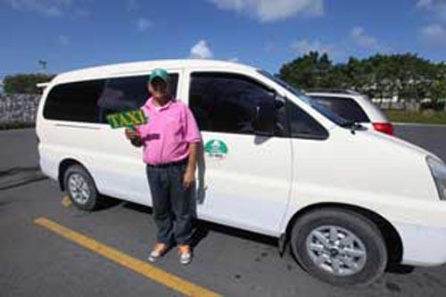 Taxis en Punta Cana