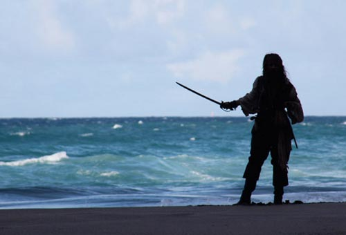 San Vicente, las Granadinas y Jack Sparrow