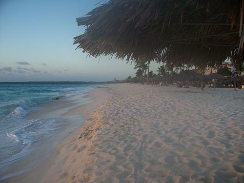 Eagle Beach, la segunda mejor playa de Aruba