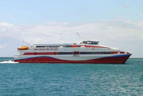 Ferry a Santa Lucia