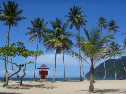 Playa Maracas, en Trinidad