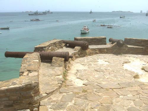 El Fortín de Santiago de Caranta, en Isla Margarita